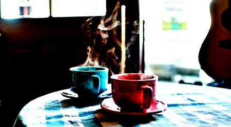 اس ام اس قهوه