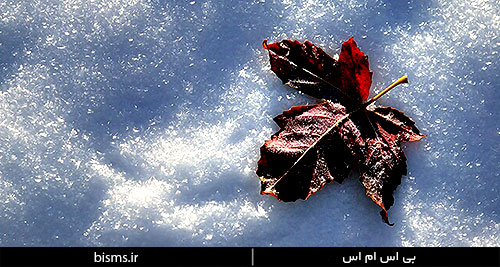 اس ام اس های جدید و زیبا در مورد بارش برف