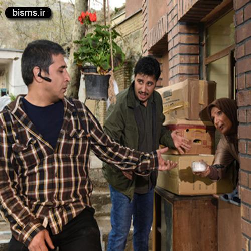 عکس های جواد عزتی در سریال دردسر های عظیم 2