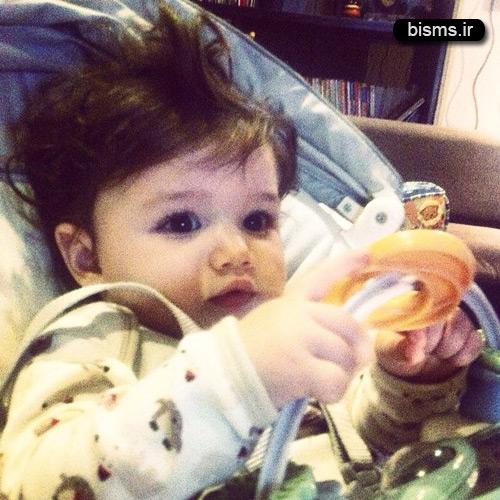 بنیامین بهادری و دخترش بارانا