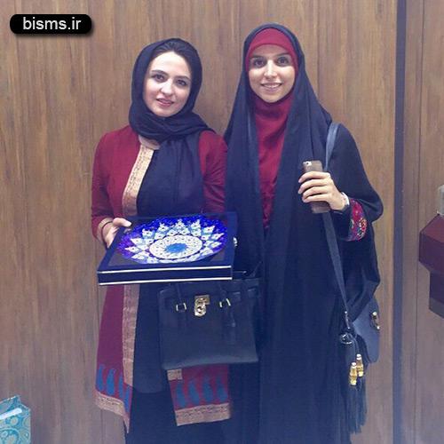 افطاری گلاره عباسی با مژده لواسانی