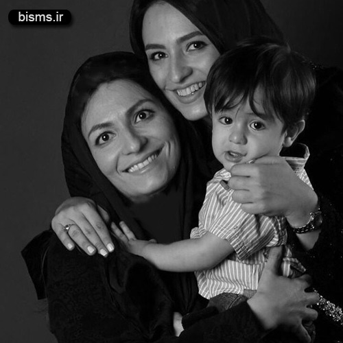 گلاره عباسی و خواهر و خواهر زاده اش