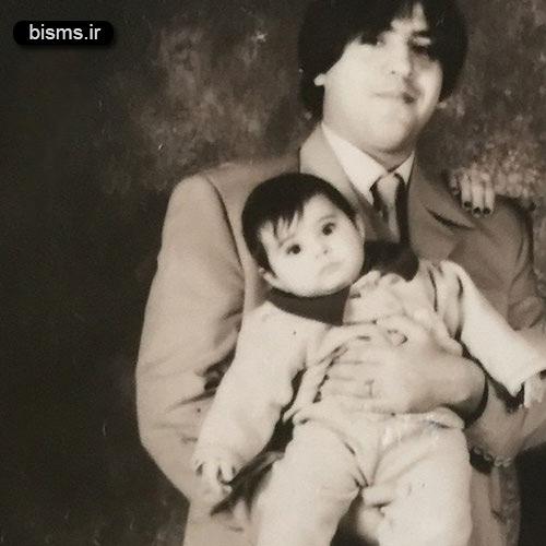عکس دیده نشده از جوانی مانی رهنما