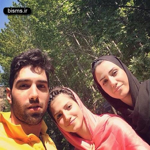عکس جالب محمد موسوی در کنار خواهرانش
