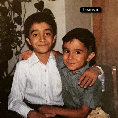 عکس کودکی نیما کرمی مجری تلویزیون