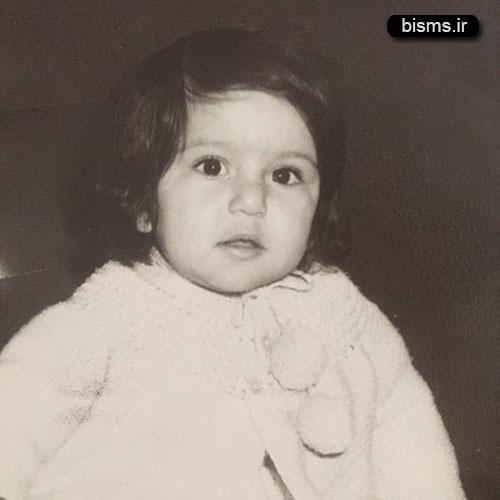 عکسی زیبا از کودکی پانته آ بهرام