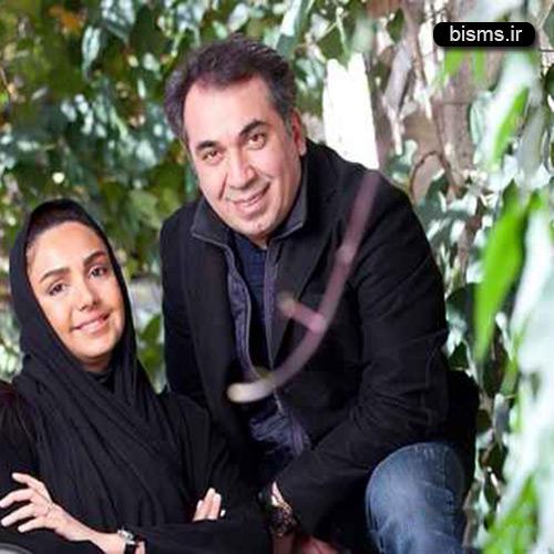 زندگی عاشقانه سیامک انصاری و همسرش