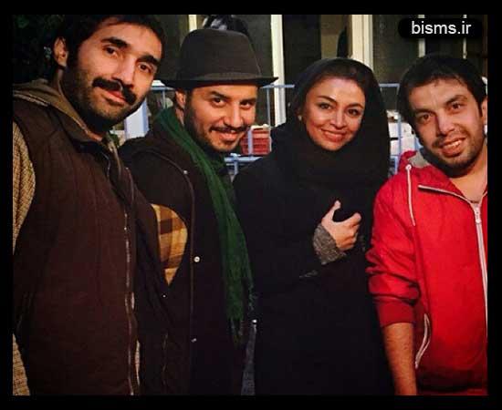 جواد عزتی و مه لقا باقری,جواد عزتی و همسرش,مه لقا باقری و همسرش,عکس جواد عزتی و مه لقا باقری