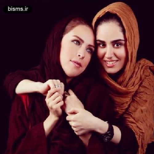 عکس های هانیه غلامی و مادرش لادن سلیمانی