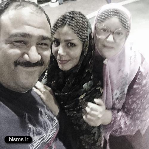 مهران غفوریان و همسرش در محله گل و بلبل