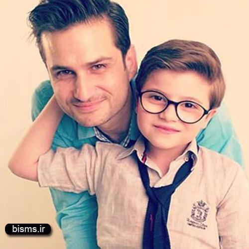 عکس زیبای پویا امینی و پسرشعکس زیبای پویا امینی و پسرش