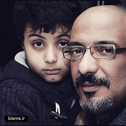 عکس جالب و دیدنی امیر جعفری و پسرش در خارج از کشور