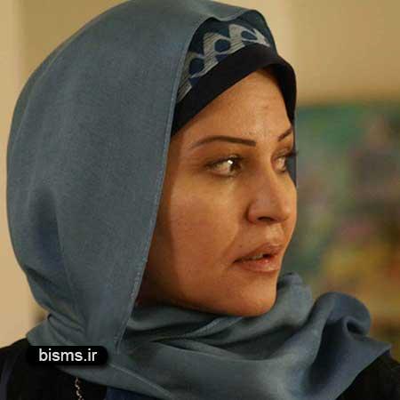 عکس اکرم محمدی در اکران فیلم در مدت معلوم
