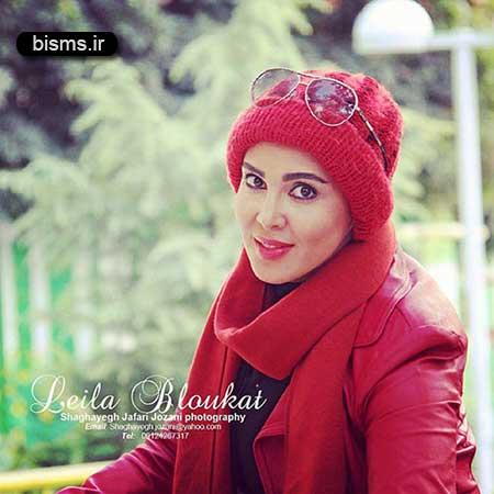 عکس دیده نشده و جدید از تولد لیلا بلوکات