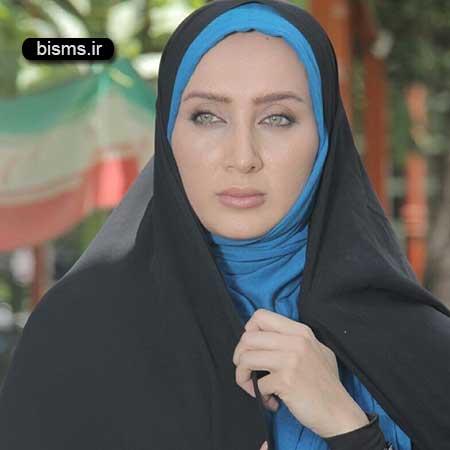 عکس جدید سولماز حصاری در نمایشگاه مطبوعات